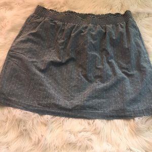 J CREW mini skirt size 16